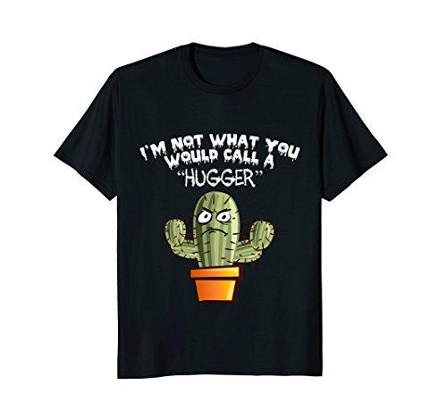 Hugger T-shirt Black (I'm Not a Hugger T Shirt)