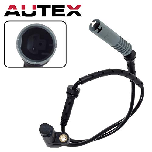 AUTEX 1pc Left or Right Front ABS Wheel Speed Sensor wire harness 34521182076 5S10542 SU11995 ALS1438 0844136 SS10303 compatible with BMW 740i 1995 1997 1998/BMW 740iL & 750iL 1995 1996 1997 1998