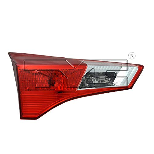 Fits 2013-2017 Toyota RAV4 Driver Side Rear Inner Tail Light NSF Certified With Bulbs Included TO2802112 - Replaces 81593-42010 ;