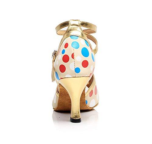 Yingsssq Femme Danse De Hauts Talons Latine chacha Pour Jazz samba À Salsa tango Chaussures moderne chaussures TqrXnT