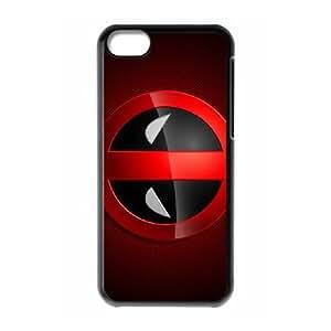 Comics Deadpool Logo iPhone 5c Cell Phone Case Black DIY Ornaments xxy002-9162696