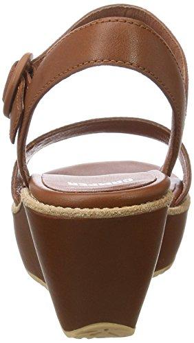 Camper Damas, Tacones Sandalias Para Mujer Marrón (Medium Brown 038)