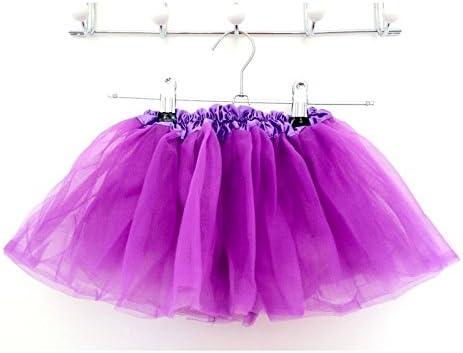 Falda de tul modelo violeta 0/8 años (A) 4 A 8 años, 6 meses A 3 ...