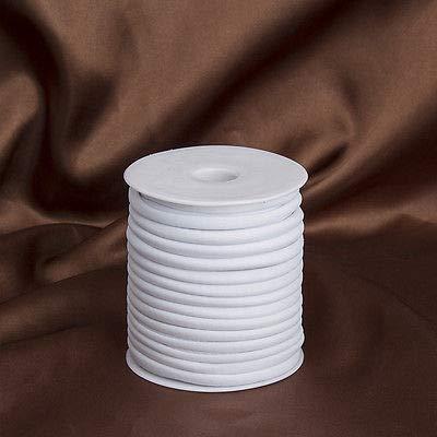 FidgetFidget Elastic Silk Cord Thread 29m Stretch White