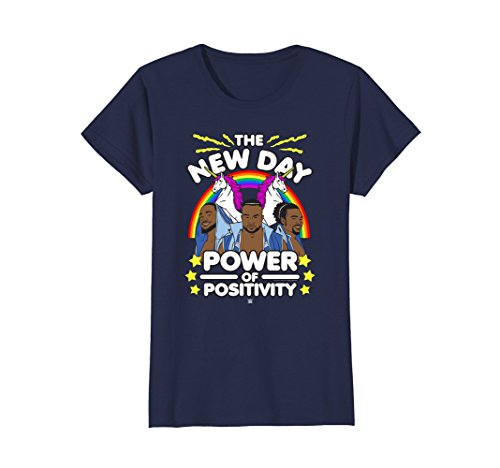 Womens WWE New Day Cartoon Group Large Navy by WWE