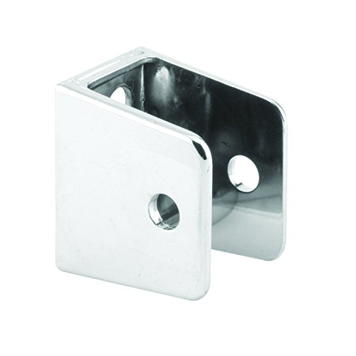 (Sentry Supply 650-6413 U Shape Wall Bracket, 3/4 inch x 1 inch, Chrome Plated, , Pack of)