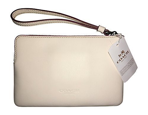 Coach Mickey Mouse Leather Wristlet Clutch - #f59528