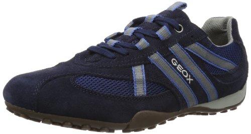 Geox Snake C4591 S Uomo Blu Basse avio blue Sneaker U HrPw56qxH