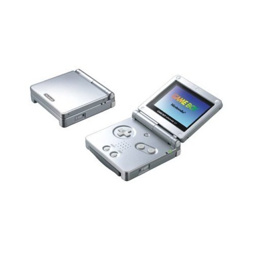 Game Boy Advance Gba Box - Nintendo Game Boy Advance SP - Silver