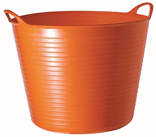 TubTrug SP42O Large Orange Flex Tub, 38 Liter
