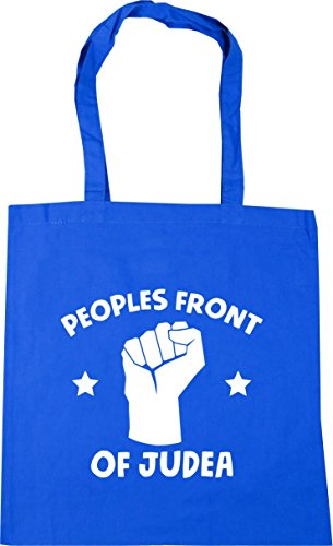 Judea Gym Peoples litres x38cm Bag Tote Shopping Cornflower 42cm Beach front Blue HippoWarehouse 10 of dtvxYYq