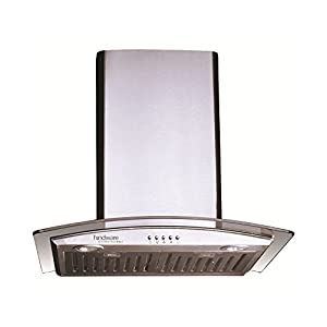 Hindware 60cm Glass Chimney Lara 60 1100M3