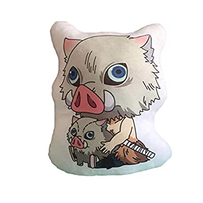 Quero Jom91 Anime Demon Slayer Pillow Doll Cosplay Cartoon Soft Stuffed Cotton Doll(3): Home & Kitchen