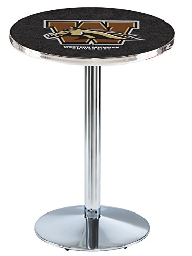 Holland Bar Stool L214C Western Michigan University Officially Licensed Pub Table, 28