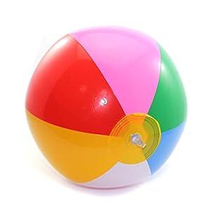 Aufblasbarer Wasserball Schwimmbad Spaß Wasserspiel Garten Spielzeug...