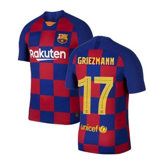 Maillot Enfant Antoine Griezmann F.C. Barcelona BARÇA Domicile 2019/2020