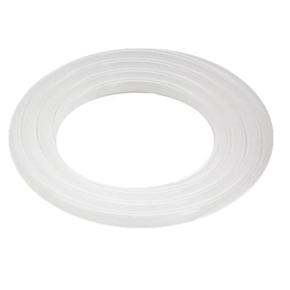 HONGLU Silicone Tubing 1/4 in ID X 1/2 in OD Silicone Rubber Tube Food Grade for Pump Transfer, Homebrew 10ft