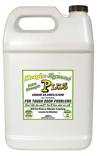 Magic-Zymes Plus Extra Strength All Natural Odor Remover 1 Gallon Bottle Odor Magic