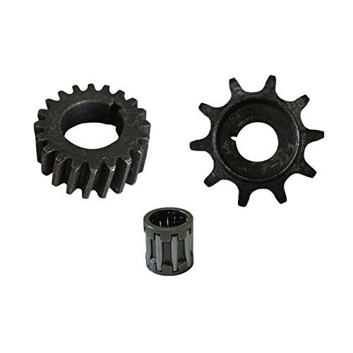 JRL Push Bike Gear&Drive Sprocket&Bearing For 66/80cc 2 Stroke Engine Motorized Bike