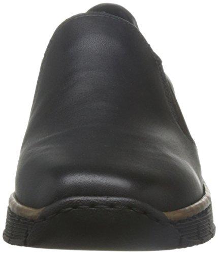 Rieker Melgar Vrouwen Casual Schoenen Zwart