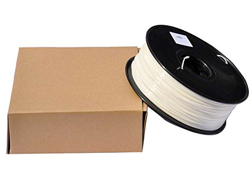 PETG 3D Printer Filament,Dimensional Accuracy +/- 0.05 mm, 1kg / 2.2lbs Spool for 3D Printers-- (1.75mm, White) by Evergreen Tree (Image #3)