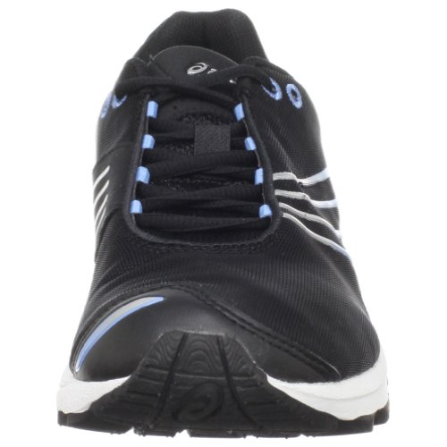 ASICS Womens GEL-Sayuri Running Shoe Black/Lightning/Blue P2UrShCGc