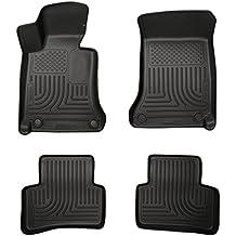 Husky Liners Front & 2nd Seat Floor Liners Fits 08-14 Mercedes C-Class 4 Door