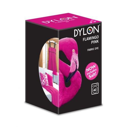 DYLON Machine Dye 350g Salt Included! Flamingo Pink - Bulk Discount Available (1)