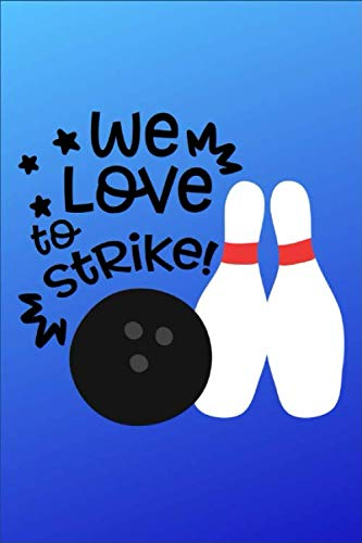 - WE Love To Strike: WE Love To Strike - Dot Grid Notebook, Diary, Journal or Planner   Size 6 x 9   100 dotted Pages   Office Equipment   Great Gift idea for Journaling and Hand Lettering