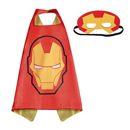 Heroes Adult Size - Ironman Logo Cape and Mask In Gift Box from Outlander