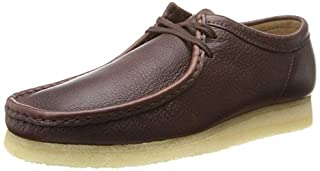 Clarks Men's Wallabee, Brown Leather, 8 M US (B00IJLU7V4) | Amazon price tracker / tracking, Amazon price history charts, Amazon price watches, Amazon price drop alerts