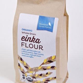 (Bluebird Grain Farms Whole Grain Einka Einkorn Flour, 32 oz. )