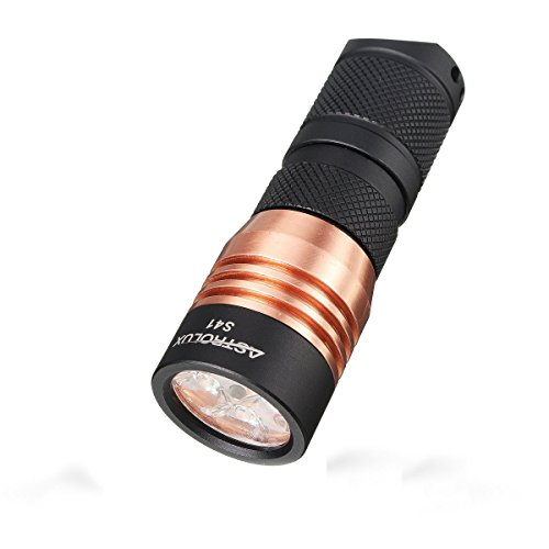 IceFox S41 4x Nichia 219B/ XP-G2 A6 1600LM Mini LED Flashlight