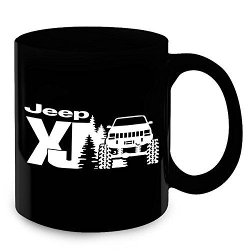 Jeep Cherokee Gifts - Jeep Cherokee XJ Coffee Mug & Tea Cup- Jeep Funny Accessories - Unique Jeep Gifts - Birthday and Christmas Gift Idea for, Husband, Wife, Girlfriend, Boyfriend, - Boys Chino Cherokee
