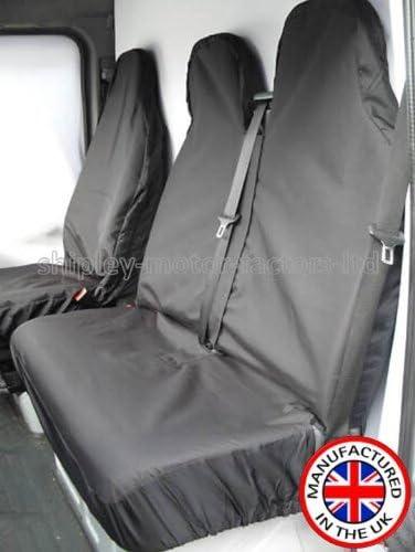 GREY Protectors EXTRA HEAVY DUTY Waterproof Van Seat Covers