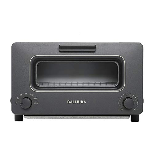 "BALMUDA Steam toaster oven ""BALMUDA The Toaster"" K01E-KG (Black)【Japan Domestic genuine products】"