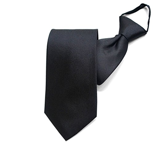 998046b55e8ed  クリサンドラ  ワンタッチ ネクタイ シルク フォーマル 黒 白 ジャガード織 ワンタッチタイ 礼服 ブラック