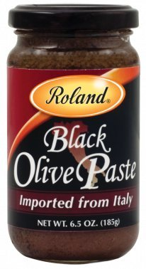 Roland: Black Olive Paste 6.5 Oz (12 Pack)