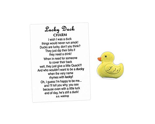 - Midwest-CBK Mini Lucky Duck Pocket Charm