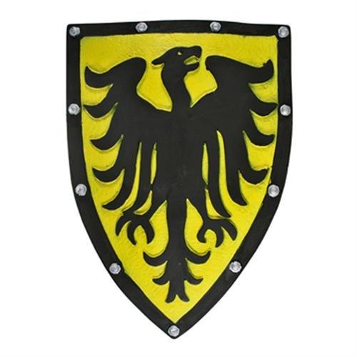Yellow Legendary Phoenix Medieval Foam Shield Larp - Shield Phoenix