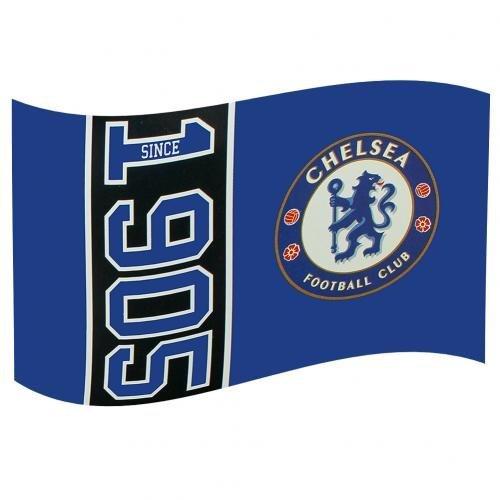 Chelsea F.c. Flag Sn Official Merchandise ()