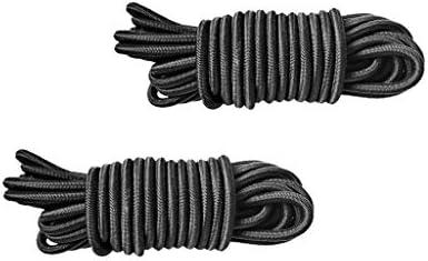 F Fityle 2xElastic Bungee Cord Shock Rope Vochtigheid UV weerbestendig 5mx4mm