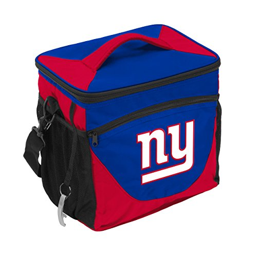 Logo Brands 621-63 NFL New York Giants 24 Can Cooler, One Size, Royal, Single, Team Color from Logo Brands