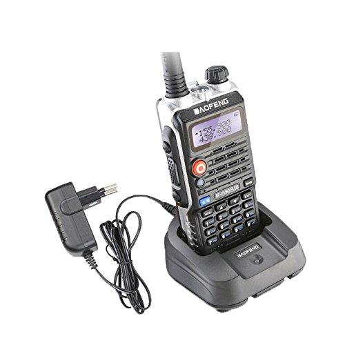 Baofeng UV-5R Walkie Talkie Dual Band Radio Walkie Talkie Set of 8 (Black) - 2