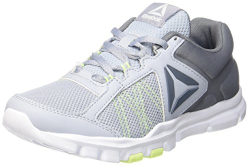 9 Gris Flash electric cloud Femme white asteroid 0 Fitness De Dust Mt Chaussures Reebok Yourflex Grey Trainette UqWn6UgE
