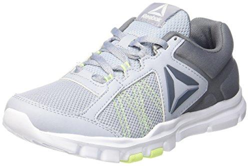 White Yourflex Shoes Asteroid Dust 9 Trainette Reebok Grey Flash Fitness Mt Grey 0 Cloud Electric Women's Zqn5W0wa