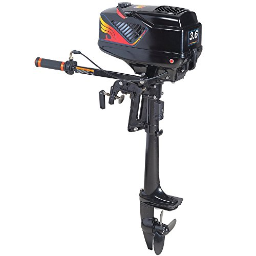 Sea Dog® 2 Stroke 3.5HP Heavy Duty Outboard Motor Boat Engine with Water Cooling System primary