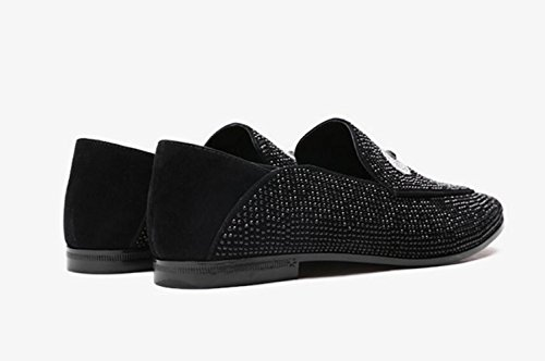 Zapatos Para Y Ligeros Mujeres Black Mocasines Transpirables Superficiales Zapatos MUYII HfAxqwTTd