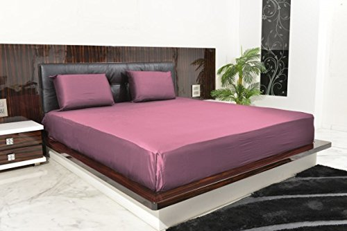 """UPC 889318399767, New Luxurious 100% Egyptian Cotton 500TC Cal King Size 1PC Fitted Sheet 24"""" Deep Pocket Solid Lavender"""