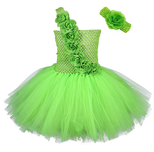 (Tutu Dreams Girls St Patrick's Day Costumes Lime Green Tutu Dress (XX-Large, Lime)